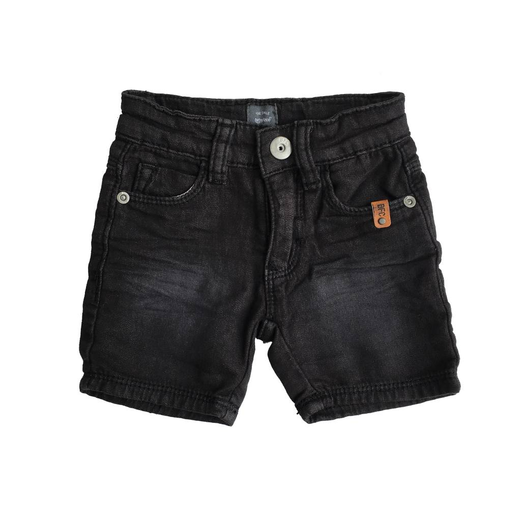 Babyface Soft Black Denim Shorts