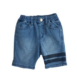 Bit'z Kids Sports Stripe Thin Denim Shorts
