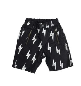 Bit'z Kids Lightning Bolt Print Shorts