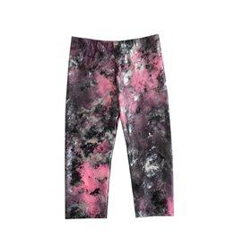 Dori Creations Metallic Pink Tie Dye Capri