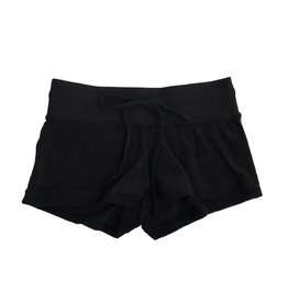Suzette Black French Terry Shorts