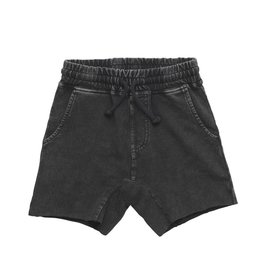 Rock Your Kid Black Wash Denim Shorts