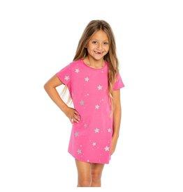 Chaser Glitter Stars T-Shirt Dress