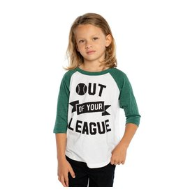 Chaser Out of Your League Baseball Tee