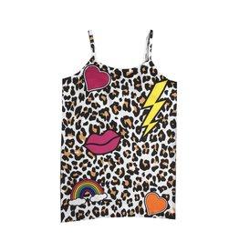 Malibu Sugar Leopard Print Cami 4-6x
