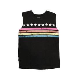 Flowers by Zoe Pastel Stars & Stripes Tank