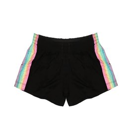 Flowers by Zoe Pastel Stripes Shorts