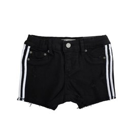 Tractr White Side Stripe Shorts