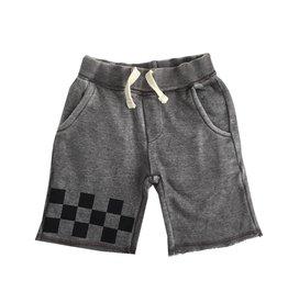 Vintage Havana Checker Trim Sweat Shorts