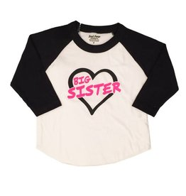 Small Change Big Sister Baseball Tee
