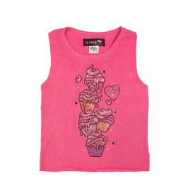 Sparkle by Stoopher Cupcakes Tank