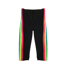 Dori Creations Neon Sports Stripe Capri