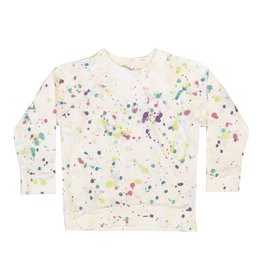 Little Moon Society Pastel Splatter Sweatshirt