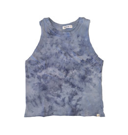 Little Moon Society Blue Tie Dye Tank