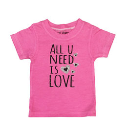 Small Change All You Need is Love Tee