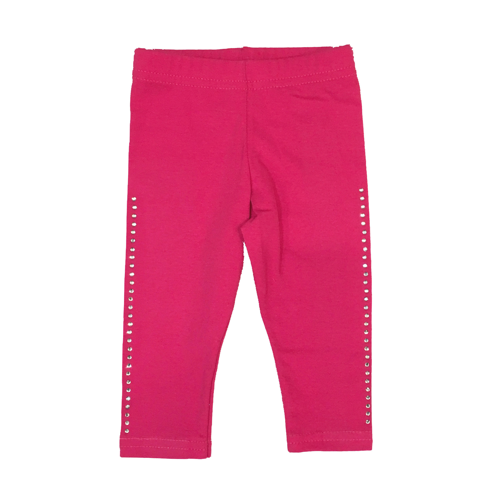 Small Change Pink Rhinestone Leggings