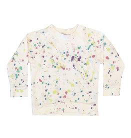 Little Moon Society Infant Pastel Splatter Sweatshirt