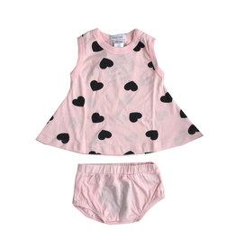 Little Mish Light Pink Heart Swing Set