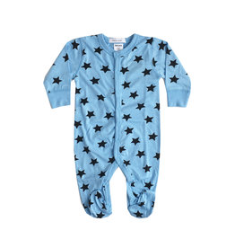 Little Mish Blue Star Footie