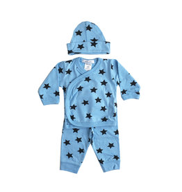Little Mish Blue Star 3pc Set