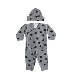 Little Mish Grey Star 3pc Set