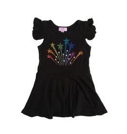 Sofi Shooting Stars Flutter Sleeve Dress