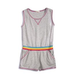 Appaman Ribbed Rainbow Trim Romper