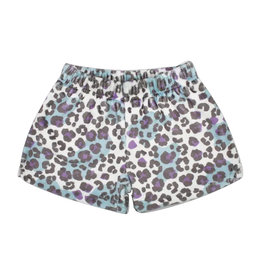 iScream Snow Leopard Plush Shorts
