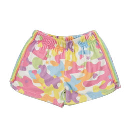 iScream Pastel Camo Plush Shorts