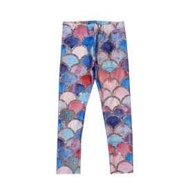 Terez Mermaid Scales Leggings