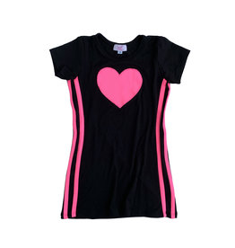 Sofi Sports Stripe Heart Dress
