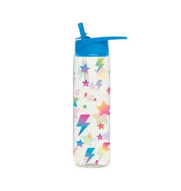 Lightning Bolt Sparkle Water Bottle