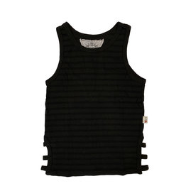 T2Love Striped Side Strap Tank