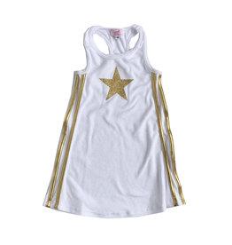 Sofi Terry Racerback Star Dress
