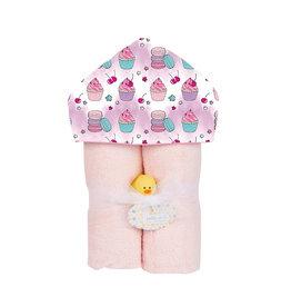 Baby Jar Sweet Treats Hooded Towel