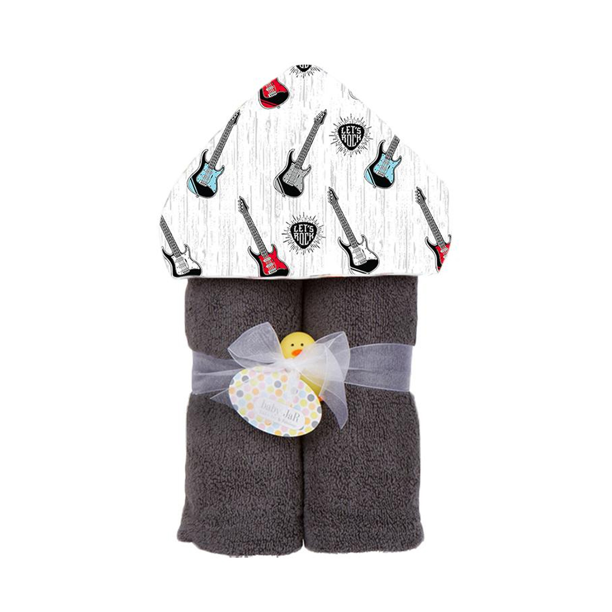 Baby Jar Guitars Hooded Towel