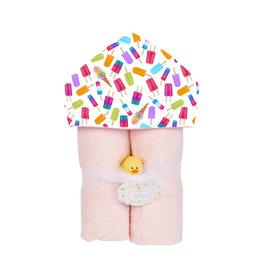 Baby Jar Ice Pops Hooded Towel