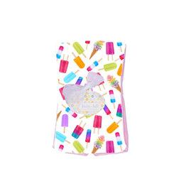 Baby Jar Ice Pops Burp Cloth