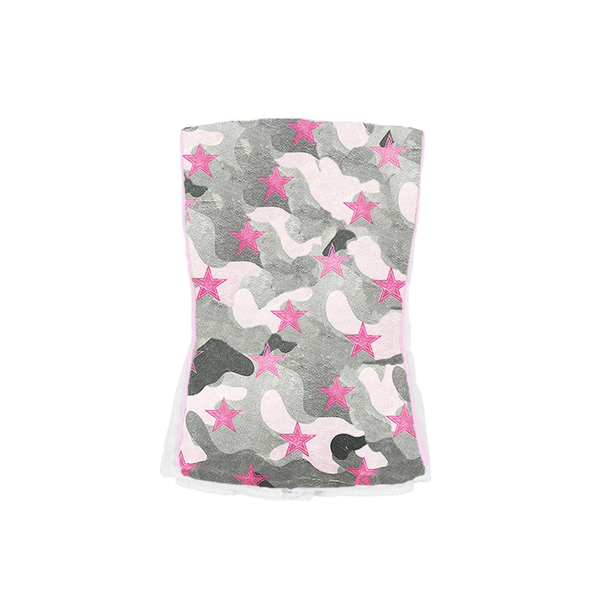 Baby Jar Pink Camo Burp Cloth