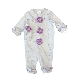 Too Sweet Lavender Glitter Splatter Outfit