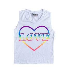 Firehouse Neon Love Heart Tank