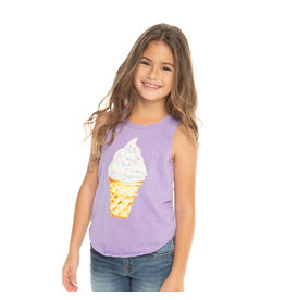 Chaser Sprinkles Ice Cream Cone Tank