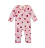 Esme Infant Pink Kisses PJ Set