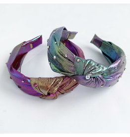 Girls Iridescent Knotted Headbands (2 Styles)