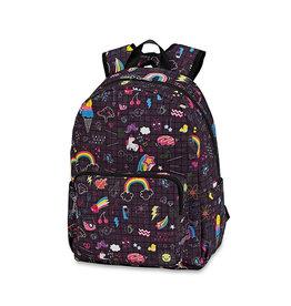 Doodle Print Backpack