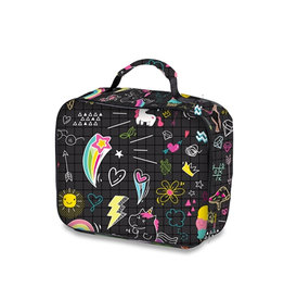 Doodle Print Lunch Box