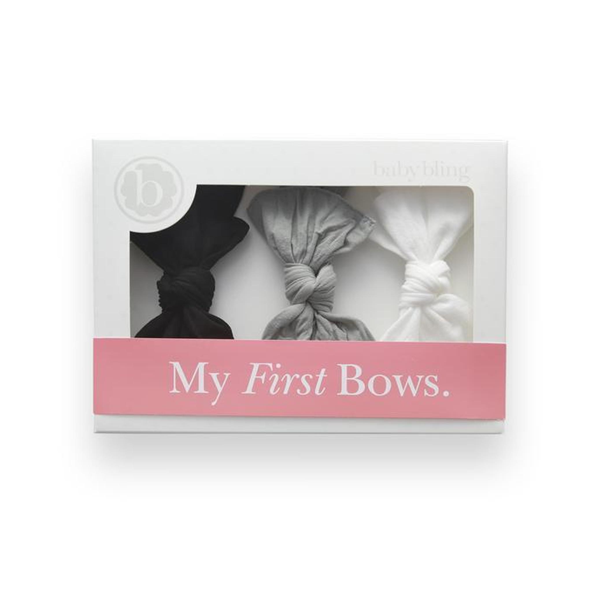 My First Bows Set in Neutrals