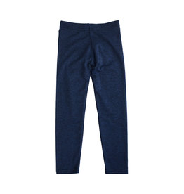 Dori Creations Navy/Black Heathered Junior Legging