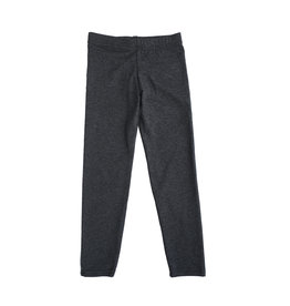 Dori Creations Charcoal/Black Heathered Junior Legging
