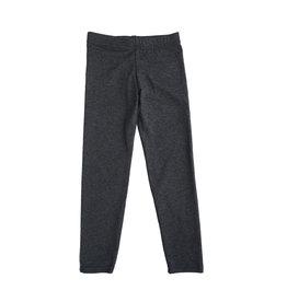 Dori Creations Charcoal/Black Heathered Legging